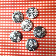 Set De 6 Pins Prendedores De My Hero Academia Anime Boku No