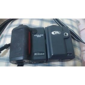Máquina Fotográfica Nikon Sem Bateria, Usada