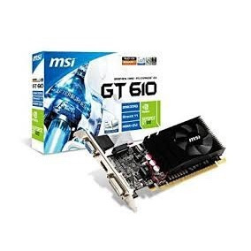 Tarjeta De Video Geforce Gt 610 Nvidia 2gb Ddr3 Pci-e Hdmi
