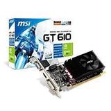 Tarjeta De Video Geforce Gt 610 Nvidia 2gb Ddr3 Pci-e Hdmi
