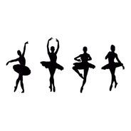 Adesivos De Parede Exclusivo Bailarina Ballet Quarto Menina