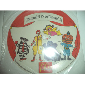 Disco Promocional Ronald Mcdonald 1992 Lacrado