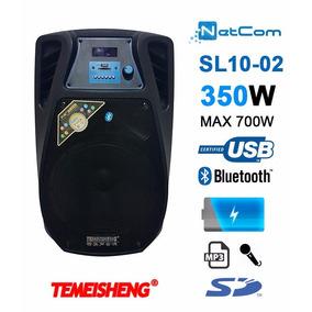 Corneta Amplificada Temeisheng Sl10-02 Bt Mic Usb Bat Sd