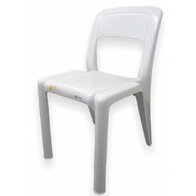 Cadeira Marfinite Parati Branca - Homologada Pelo Inmetro