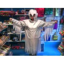 Disfraz Fantasma Talle Mediano Niños Halloween