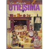 La Revista Utilisima Nro 70 1995 Ointura Sobre Madera Tejido