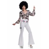 Blusa Camisa Disco Retro 70