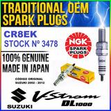 Bujía Cr8ek Ngk Japan 3478 Suzuki V-strom 1000 02 - 12 Ryd