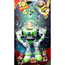 Buzz Lightyear Grande Articulado Luz Som Toy Story + Brinde