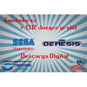 Emulador Sega Y Sega Genesis + Regalo 1312 Juegos