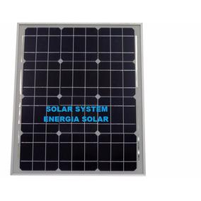 Painel Solar Fotovoltaico 30w Com Controlador De Carga 10amp