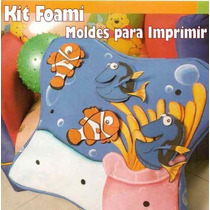 Kit Foami Fieltro. Patrones Para Imprimir
