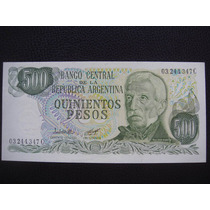 Argentina - Billete De 500 Pesos, Año 1979 - Sin Circular