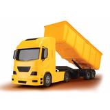 Caminhão Brinquedo Caçamba Construção Obra Areia Pedra Brita