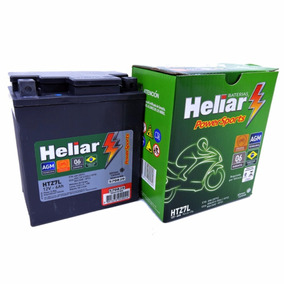 Bateria Moto Heliar Htz7 Dafra Apache/speed/riva 150 Oferta