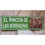 Rincon De Las Borrachas Cantina Cuadro Cartel Bar