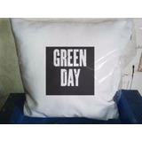 Almohada Almohadon Bandas Green Day 40 X 40 Cm