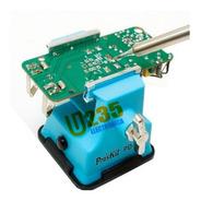 Morsa Mini Proskit Uso Electronica Manualidades Hobbista Ideal Para Soldar Modelo Pd-372 Fijación Por Ventosa