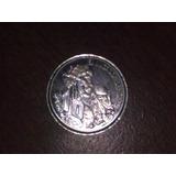 Moneda De $10 Homeaje A Maradona Año 2000