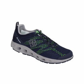 Zapato Columbia Campismo Drainmaker Iii-azul/verde