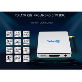 Tv Box Yoka Kb2 Pro Octa Android 32gb Kodi * Pronta Entrega*