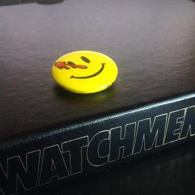 Watchmen + Botton Comediante Alan Moore Original Couro Ltda