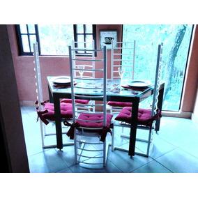 Mesa De Jantar E Cadeiras Peças Unicas Para Pequenos Espaços