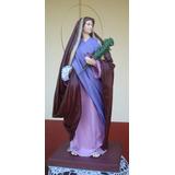 Imagen De Santa Lucía. Arte Sacro.imagen Religiosa Artesanal