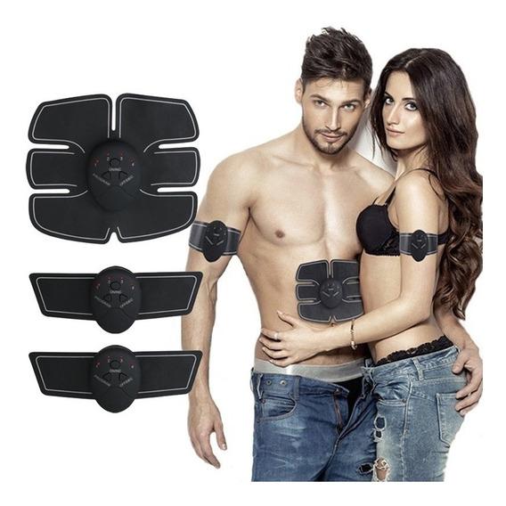 Electrodo Abdominales Y Brazos Gym Estimulador En Casa Smart