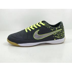 ad0b14c4c3 Dour 41 Chuteira Nike Tiempo Couro Pret Branc - Chuteiras Nike de ...