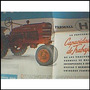 Antiguo Afiche De Tractores Farmall H Y M, Impecable Estado!