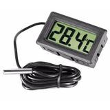 Termômetro Digital Para Ambientes Com Sensor Externo