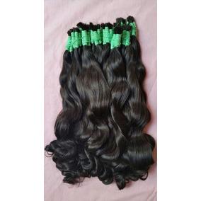 Aplique Mega Hair- Cabelo Humano Ondulado 60 Cm 50 Gramas