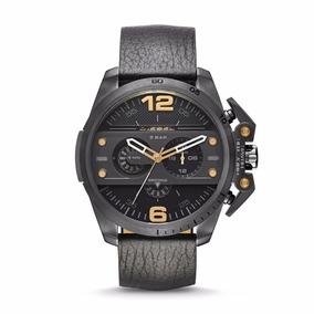 Relógio Luxo Diesel Dz4386 Preto Couro Novo Oferta Mp12