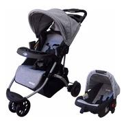 Coche Jogger Mega Baby Travel System 3 Ruedas Con Huevito