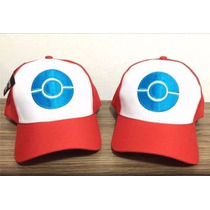 Boné Pokémon Go! Aba Curva Bordado Modelo Novo