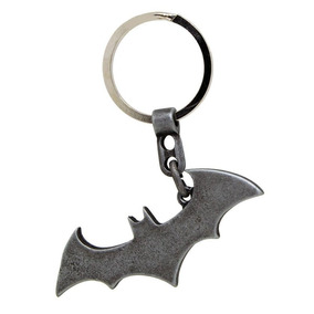 Chaveiro Dc Originals Logo Batman Dark Metal - Beek