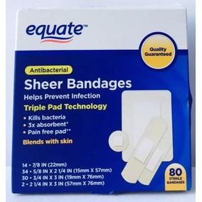 Curitas Benditas Antibacteriales Adhesivas Equate 500 Pz