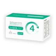 Agulha Para Caneta De Insulina 4mm 32g C/100un