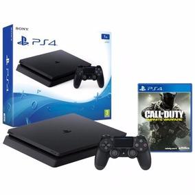 Playstation 4 1tb Slim + Cod Infinite Warfare Con116+jue140