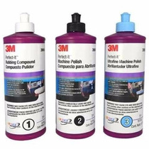3m Kit Pulidores - Perfect It - Paso 1 / 2 / 3 - Potenza
