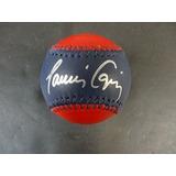 Javier Lopez Firmado Braves Baseball Signed Auto - Psa / Dna