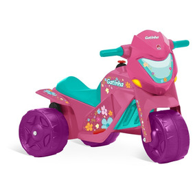 Triciclo Motoca Elétrica Infantil Passeio Criança Menina