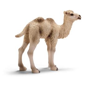 Schleich Réplica De Figura De Camello Bebé, Color Café Con B