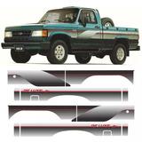 Franjas Decorativas Originales , Laterales Chevrolet D20