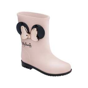 Galocha Disney Fashion Minnie Laço Rosa