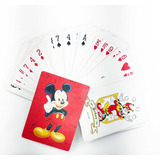 Baraja Jumbo Disney Mickey Mouse Cartas Poker Naipes
