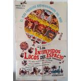Poster Afiche Cine Julio Verne Intrepidos Locos Del Espacio
