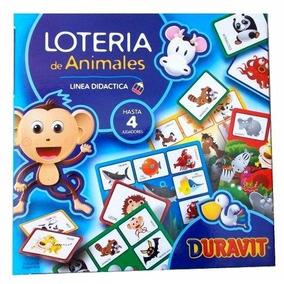 Loteria De Animales Infantil Linea Didáctica Duravit 020