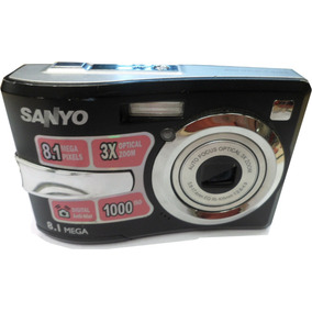 Camara Digital Sanyo A Pilas 8.1 Megas Funcionando (usado)